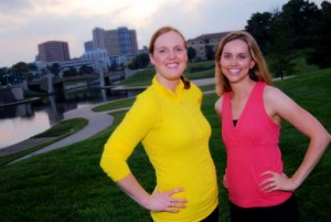 Fit Bottomed Girls Founders Jenn Walters and Erin Whitehead