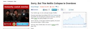 Netflix on Biz Insider