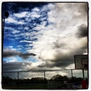 Post-storm sky